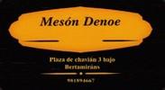 Mesón Denoe
