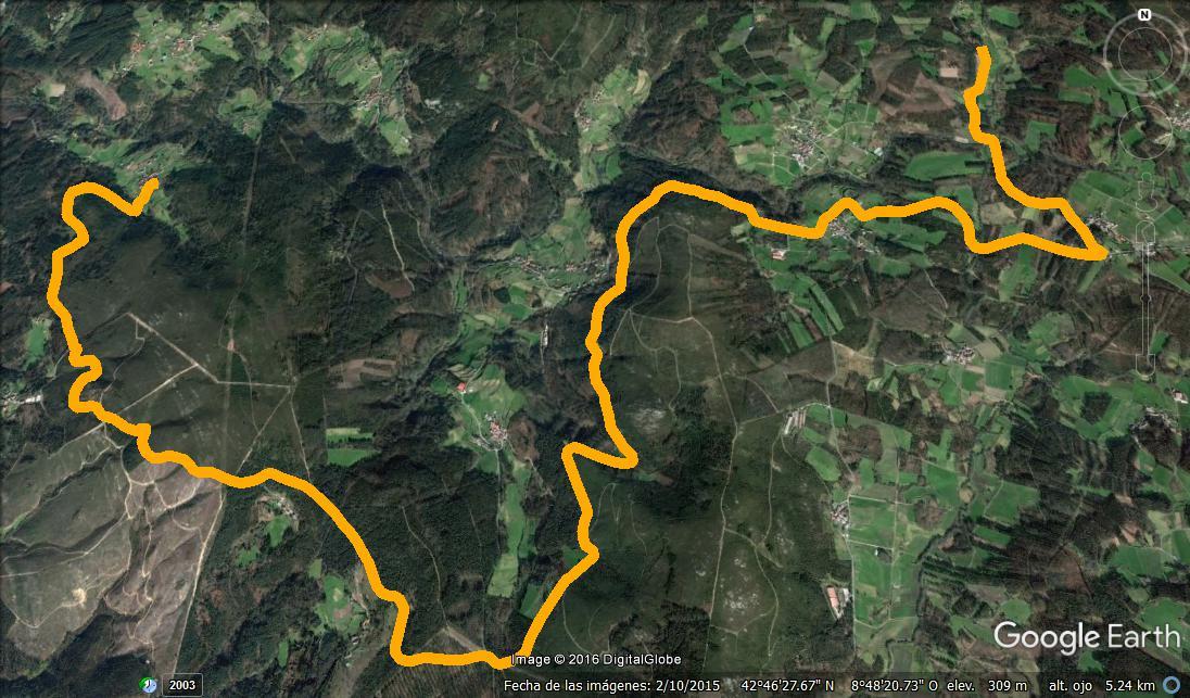 Mapa Pavimentos Noia